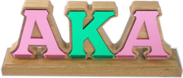 Alpha Kappa Alpha Mirror Desktop Piece