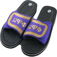 Omega Psi Phi Strapped Mens Flip Flop Sandals