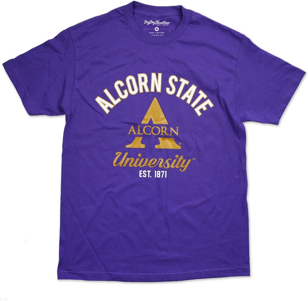 Alcorn State Braves S9 Mens Tee