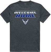 Air Force Welcome Home Mens Tee