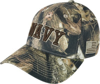 Navy Low-Profile Structured HYBRiCAM Mens Cap