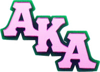 Alpha Kappa Alpha Big Letter Mirror Pin