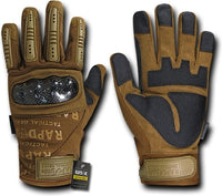 Carbon Fiber Combat Tactical Gloves