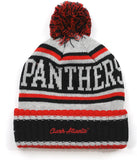 Clark Atlanta Panthers S51 Mens Cuff Beanie Cap with Ball