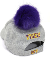 Benedict College Tigers S8 Ladies Pom Pom Cap