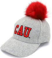 Clark Atlanta Panthers S8 Ladies Pom Pom Cap