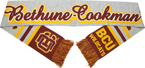 Bethune-Cookman Wildcats S5 Mens Knit Scarf