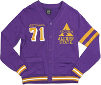 Alcorn State Braves Mens Lightweight Cardigan