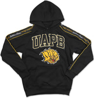 Arkansas at Pine Bluff Golden Lions S5 Mens Pullover Hoodie