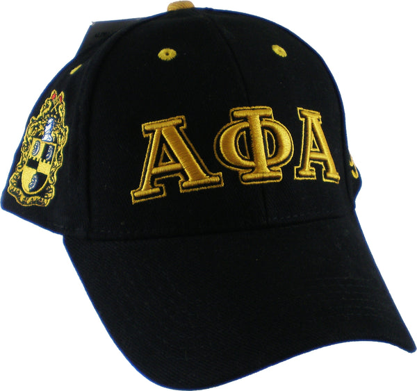 Alpha Phi Alpha Fraternity Low-Profile Mens Cap