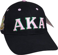 Alpha Kappa Alpha Sorority Low-Profile Ladies Cap