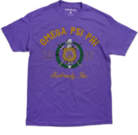 Omega Psi Phi Divine 9 Graphic S15 Mens Tee