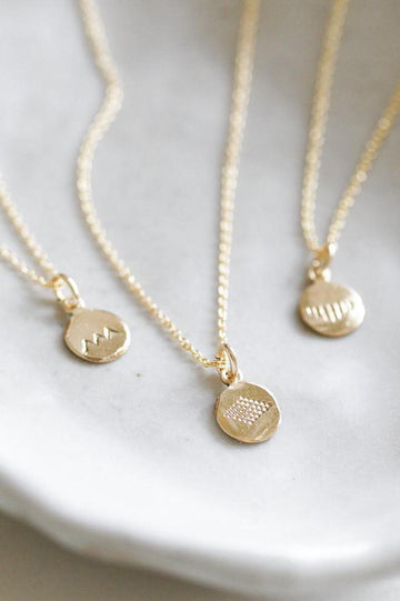Gold Symbol Necklace