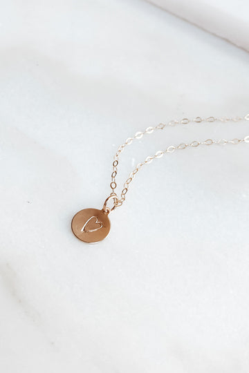 Whitney Shelhamer Limited Edition Heart Montara Necklace