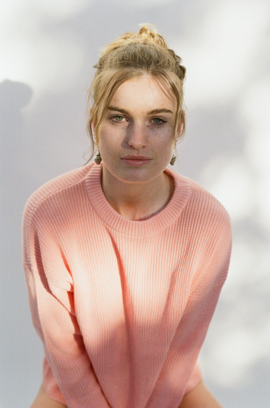 Slowly Golden Betty Jumper Pink