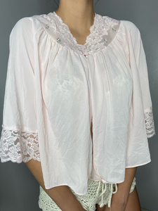 Pink Babydoll Sleep Shirt