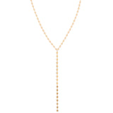 Golden Star Lariat Necklace