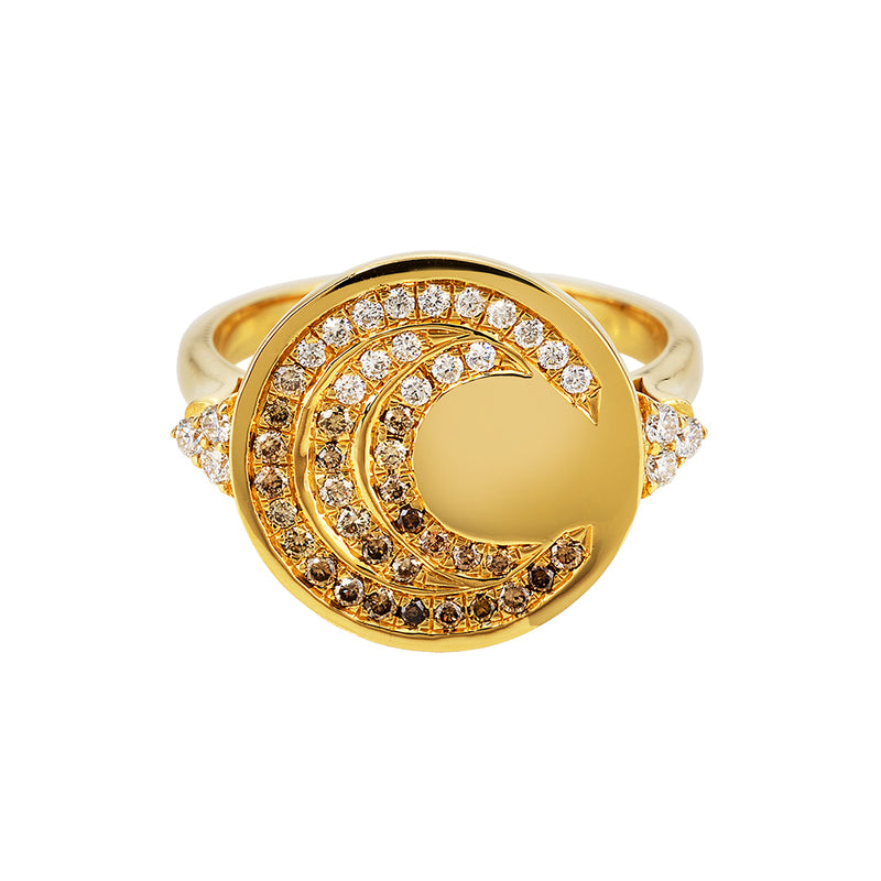 Cosmo Coin Ring