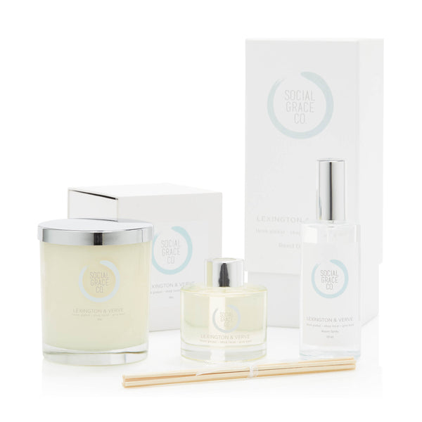SGC HOME SCENT GIFT SET - LEXINGTON & VERVE