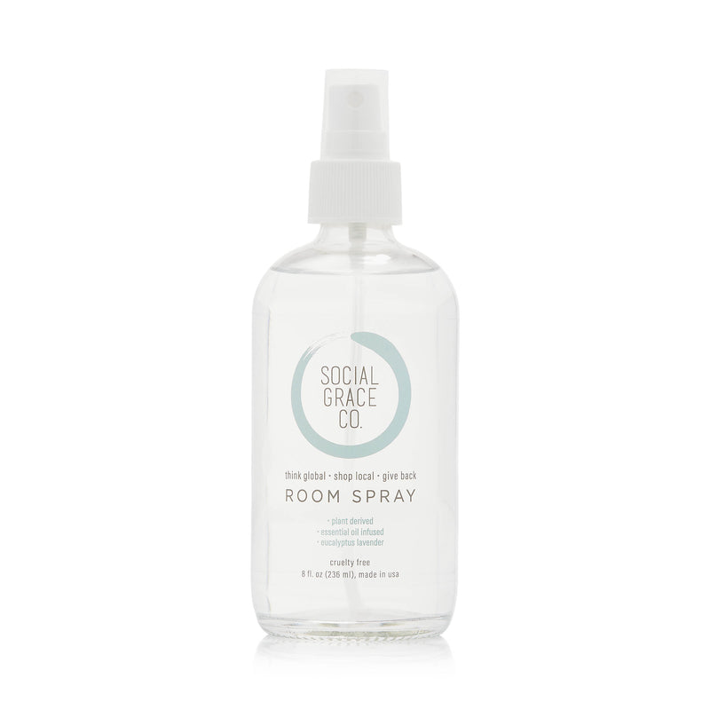 SGC ROOM SPRAY -  LAVENDER EUCALYPTUS - 8OZ