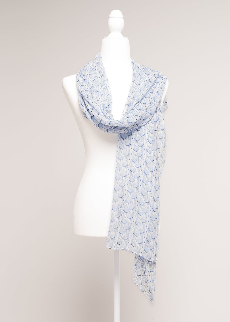 SCARF  - EMGGIE LIGHT BLUE