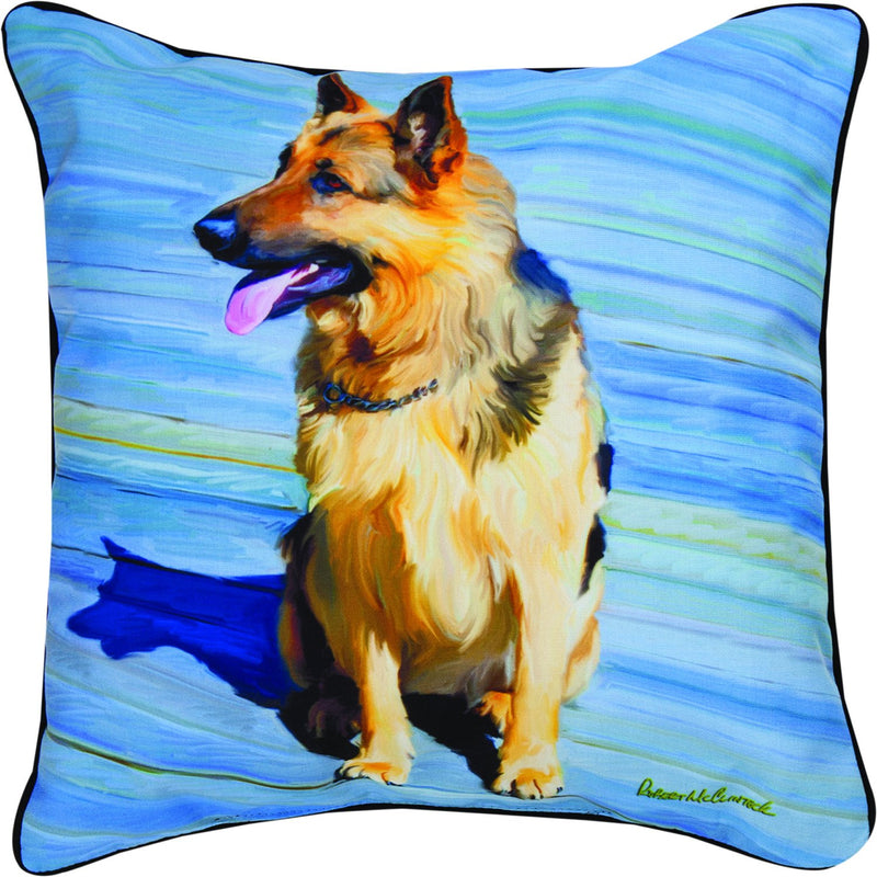 GERMAN SHEPHERD- THE DOG BREEDS COLLECTION - DEC. PILLOW