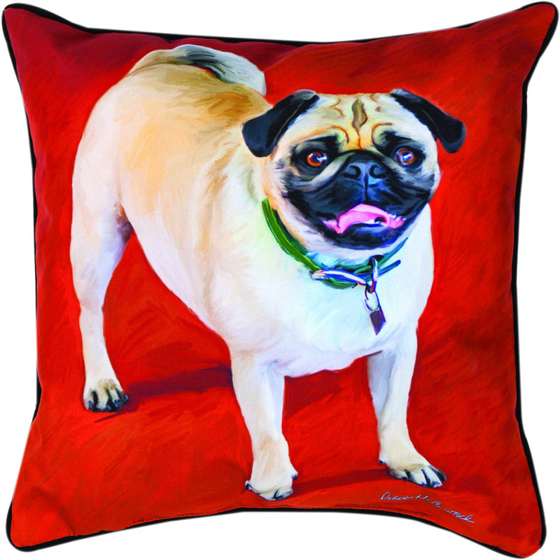 PUG- THE DOG BREEDS COLLECTION - DEC. PILLOW