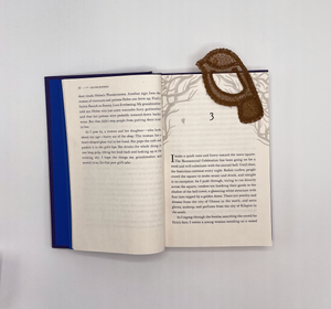 Brown Bird Pop-Out Bookmark