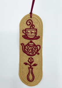 Coffee and Tea Bookmark