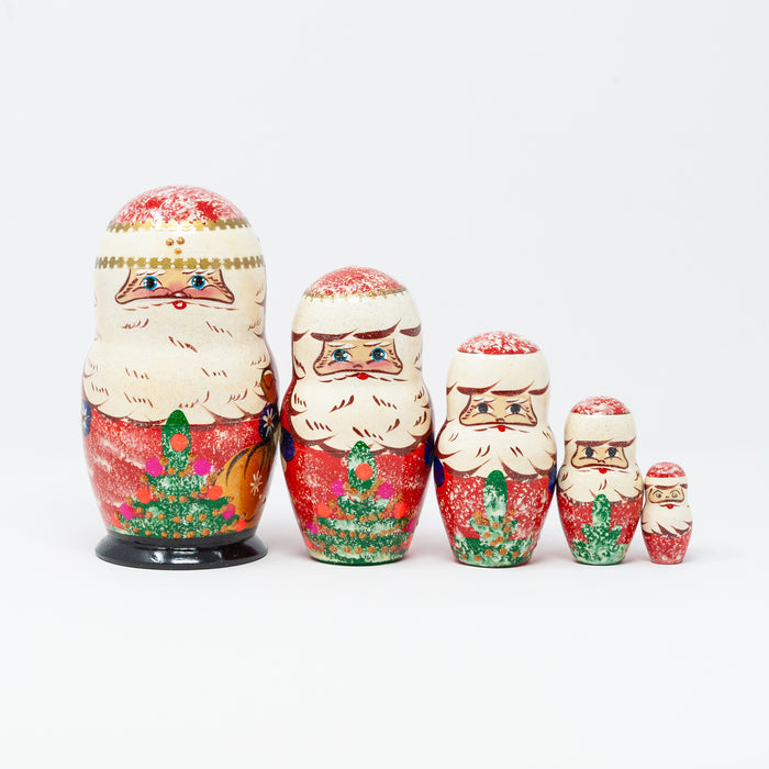 Frosted Santa Family