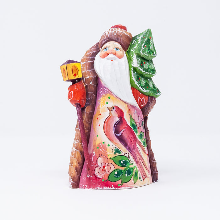 Hand-carved Grandfather Frost Figurine