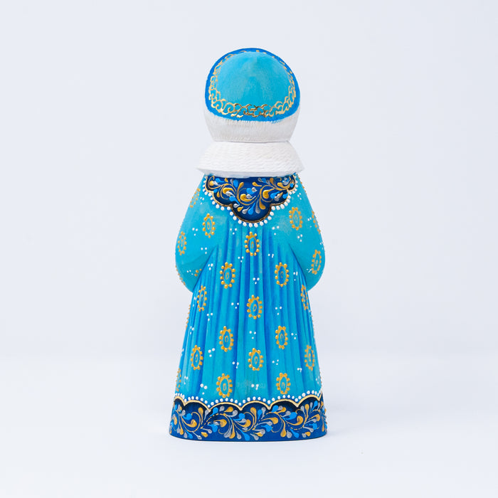 Hand-carved Snegurochka (Snow Maiden)