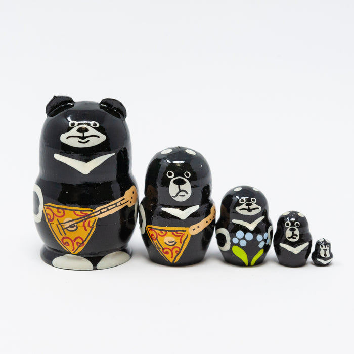 Mini Himalayas/Tibetan Moon Bear – Set of 5