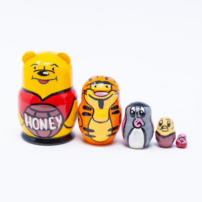 Mini Winnie-the-Pooh with Friends – Set of 5