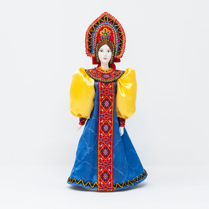 Tall Russian  Costume Doll