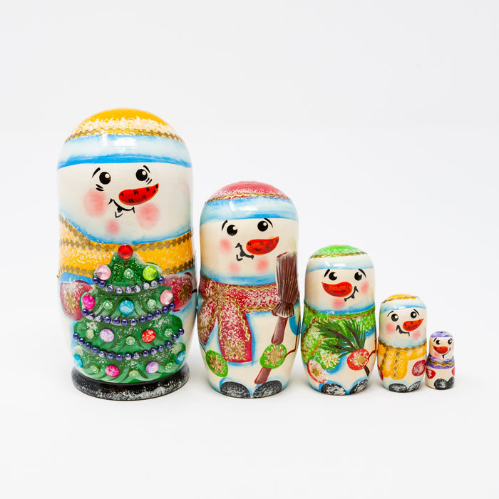 Snowman Family (Multiple Colour Options)