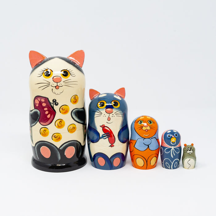 Money Cat – Set of 5 Large