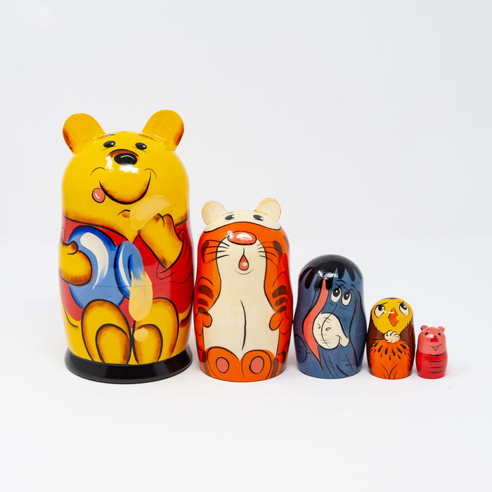 Large Winnie-the-Pooh with Friends – Set of 5