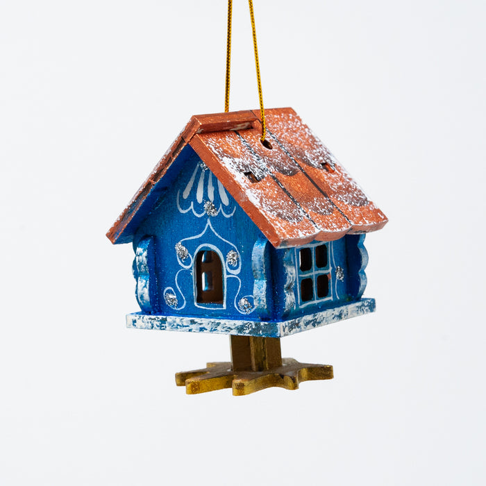 Hut on Chicken Legs Ornament
