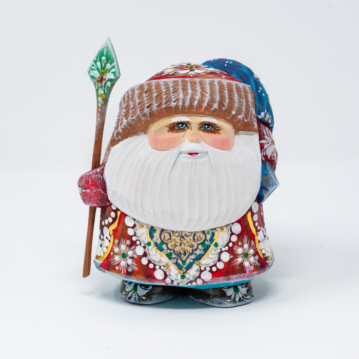 Hand-carved Small Grandfather Frost