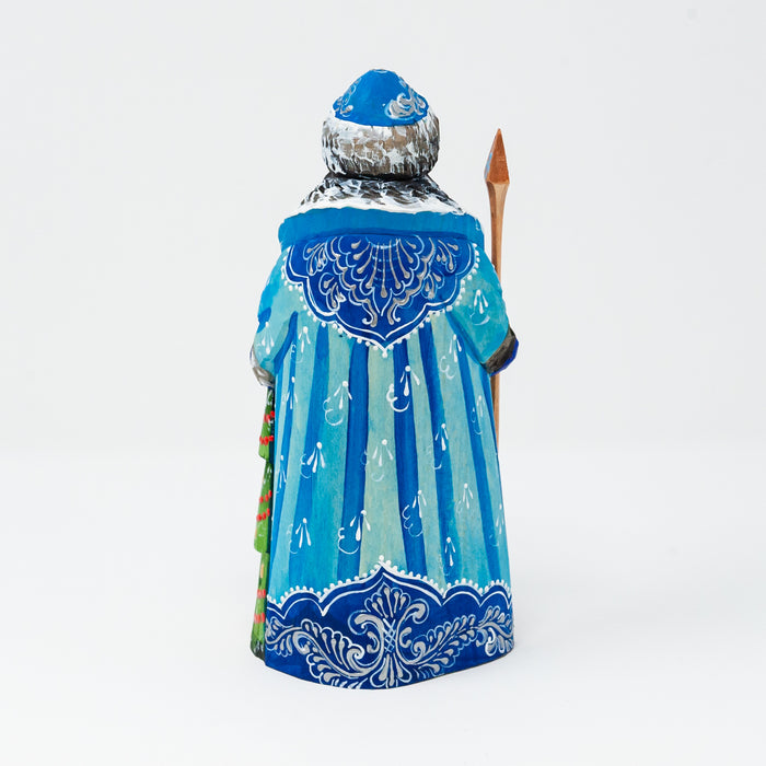 Hand-carved Grandfather Frost Figurine (Multiple Colour Options)
