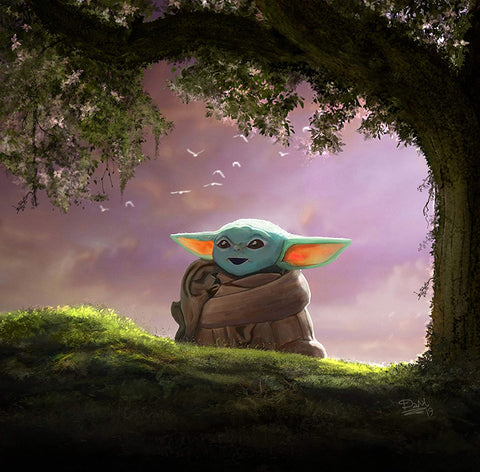 Baby Yoda Paint by Numbers