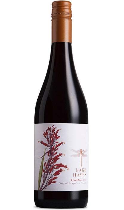 Lake Hayes Pinot Noir Wine Bottle