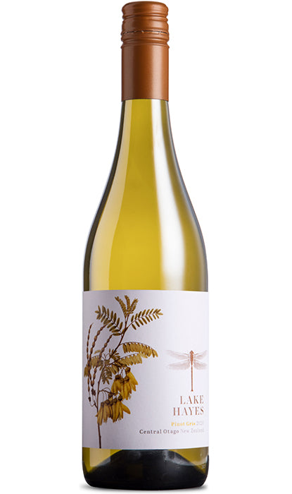 Pinot Gris Lake Hayes Wine Bottle
