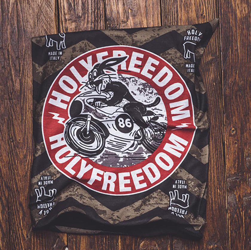 Holy Freedom Fast Rabbit Bandana Face MaskTube