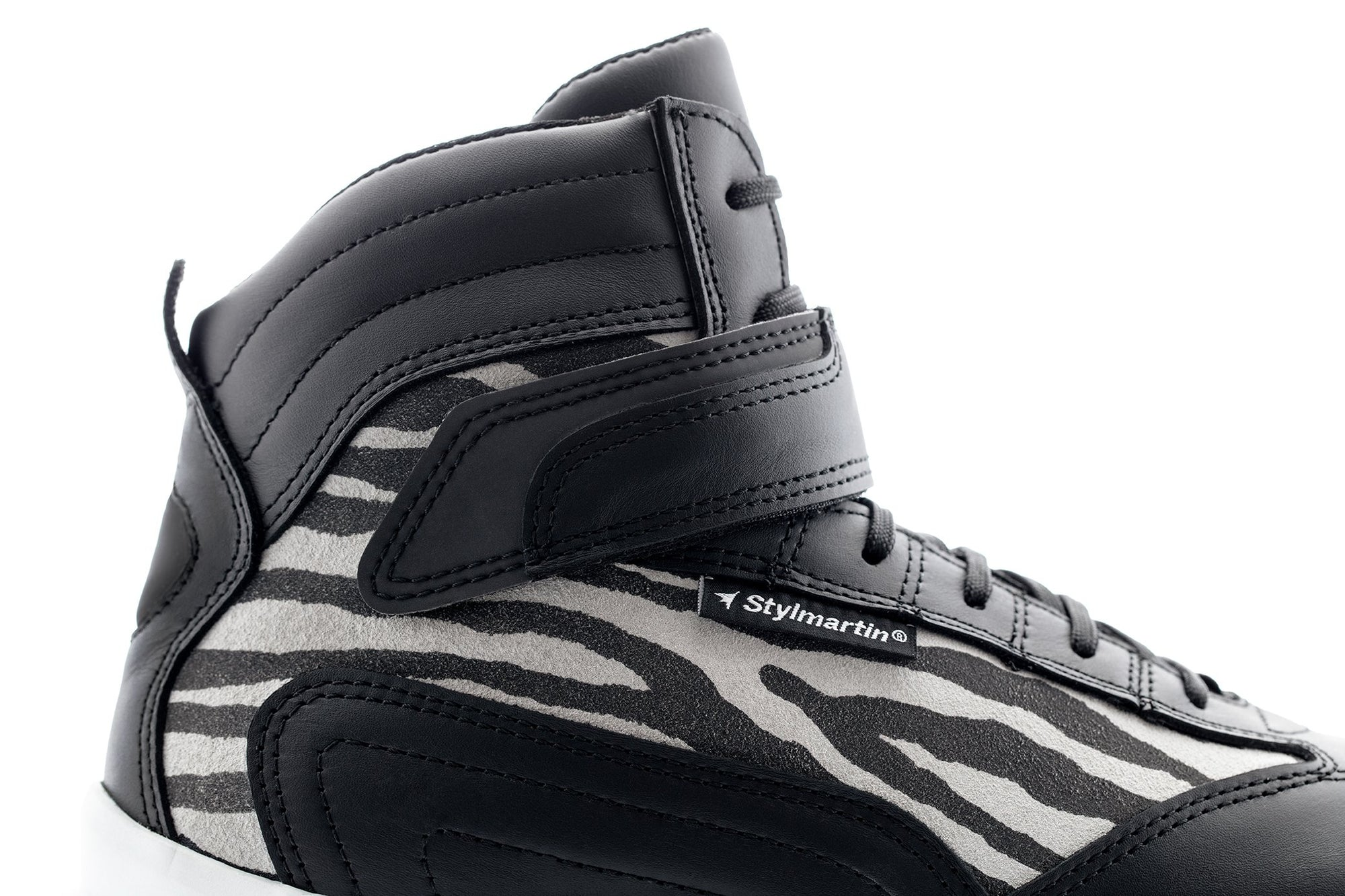 Stylmartin - Stylmartin Audax Jungle WP Sport U in Black - Boots - Salt Flats Clothing