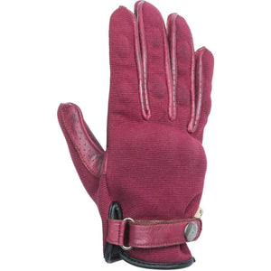 By City Ladies California Textile Leather Glove