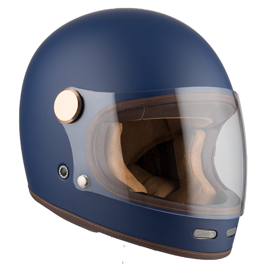 By City - By City Roadster Blue Full Face Helmet - Helmets - Salt Flats Clothing