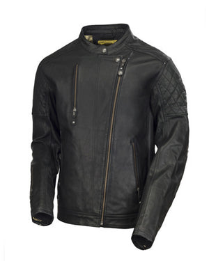 Roland Sands Design Clash leather motorcycle jacket Black