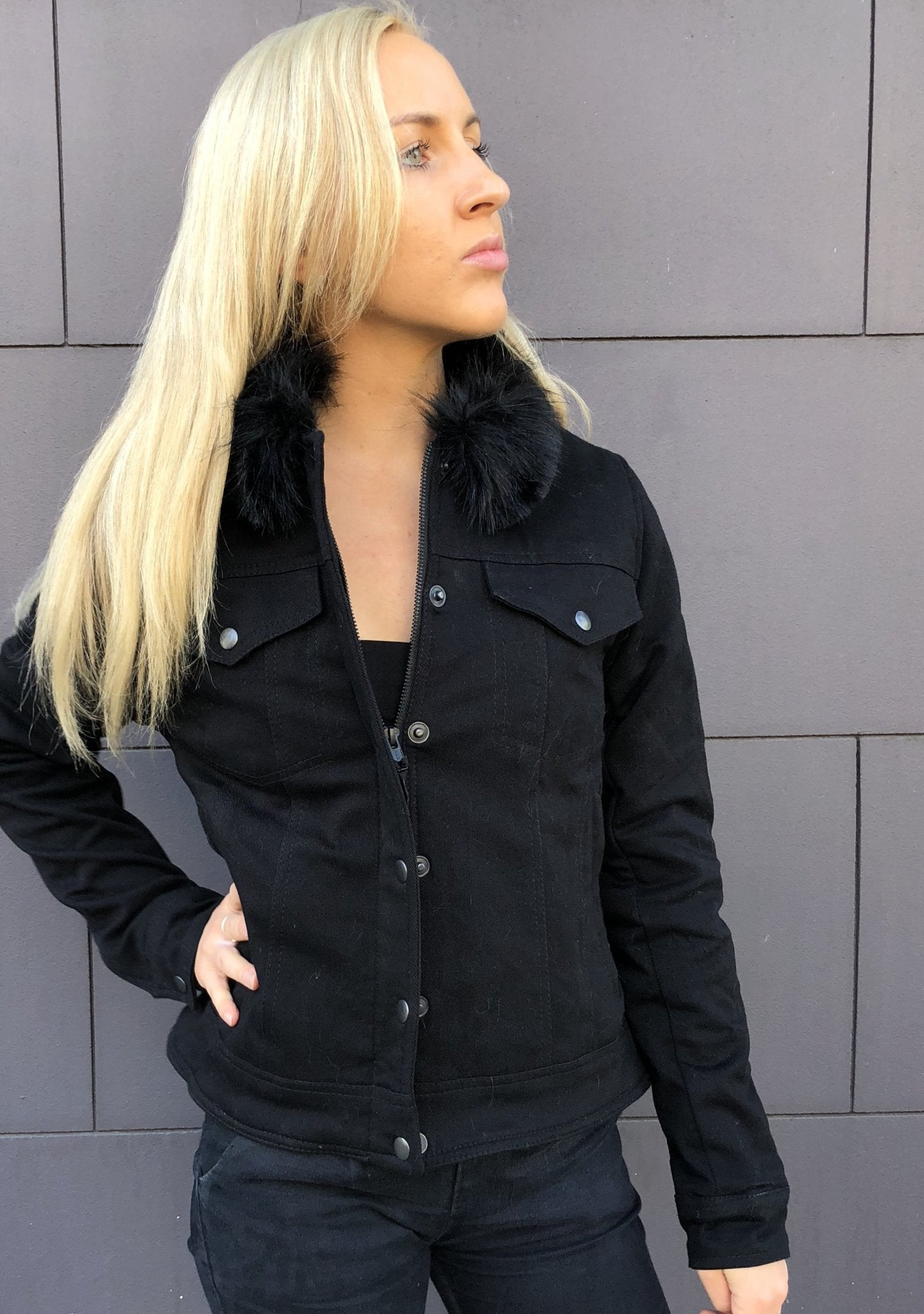 Blackbird - Blackbird Ladies Moscow Textile Jacket - Ladies Jackets - Salt Flats Clothing